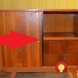 Na povale našiel starú komodu. Vyrobil z nej úžasný darček pre dcérku!