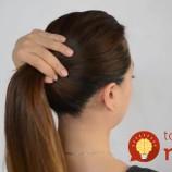 Neviete nájsť gumičku do vlasov? Naučte sa tento rýchly a jednoduchý trik!