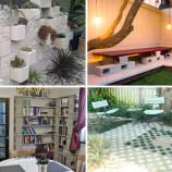 23 nápadov, ako skrášliť domov pomocou betónových tvárnic