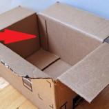 Ako z obchodu: Premeňte prázdnu krabicu na vkusný úložný box