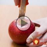 Vydlabal jablko, naplnil ho krémom a vložil do rúry. Tento dezert si zamilujete aj vy!
