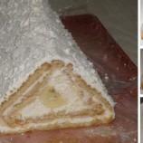 Nepečený dezert: Tvarohovo-smotanová strecha s ovocím