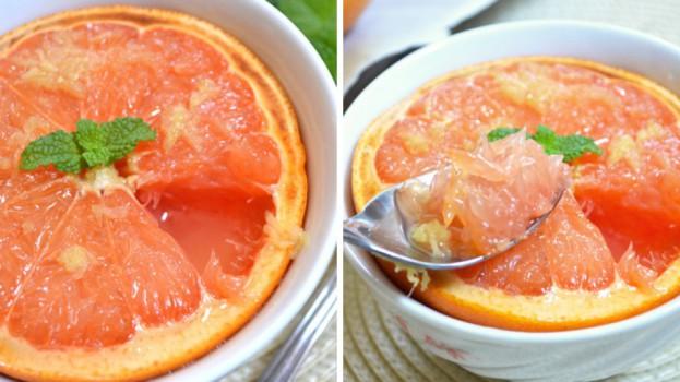 Toto naštartuje metabolizmus po sviatkoch: Grapefruit pečený s medom a zázvorom – zázrak na chudnutie!