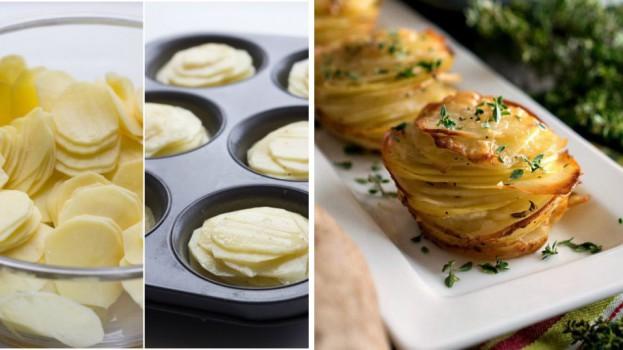Famózne jedlo z obyčajných zemiakov? Pripravte ich vo forme na muffiny!