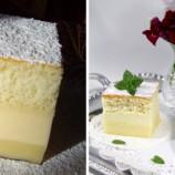 Chytrý koláčik: Z jedného cesta sa počas pečenia vytvoria tri vrstvy!
