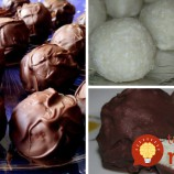 Kokosové guľky v čokoláde: Nepečená pochúťka z 3 ingrediencií