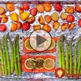 Video: Pripravte si vynikajúcu večeru z jedného plechu