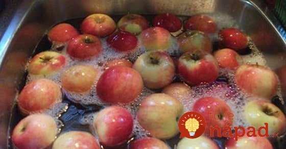 Voda nestačí: Jednoduchý trik, ako zbaviť ovocie a zeleninu chémie