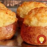 Vynikajúce strapaté zemiaky: Pripravte si hravú pečenú pochúťku