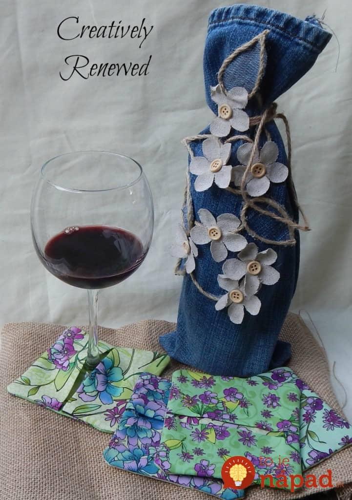 Wine-bag-glass-and-coasters