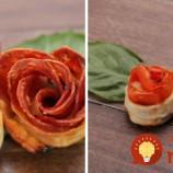 Jednoduchý návod ako pripraviť chutné Pizza ruže