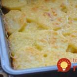 Krémové pečené zemiaky: Delikatesa, ktorú pripravíte rýchlo a jednoducho