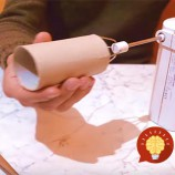 Trik so šľahačom a rolkou z toaletného papiera. Ušetrí vám prácu a množstvo času!