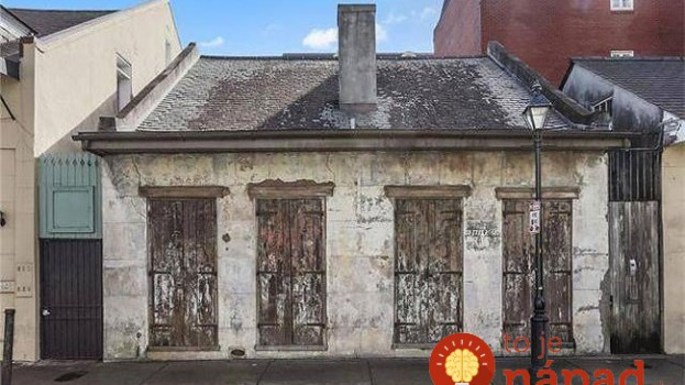 200-ročný dom pôsobí zvonku zanedbane. Keď však stúpite dnu, spadne vám sánka!