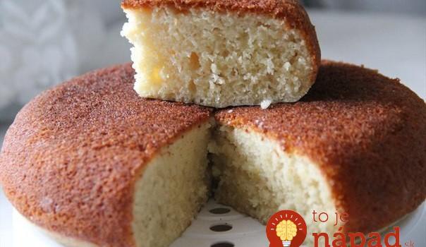 Hrnčekový mliečny koláč