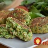 Vynikajúce brokolicové fašírky s ovsenými vločkami