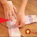 Perfektný trik, ako poskladať ponožky rýchlo, úhľadne a tak, aby sa vám viac nestratili