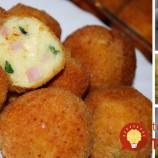 Netreba k nim už nič pridávať: Domáce zemiakové krokety plnené šunkou a syrom!