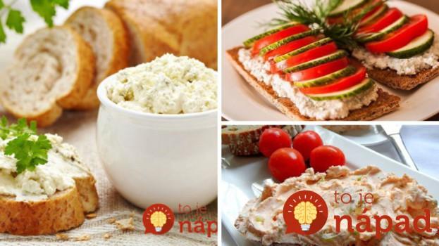 9 tipov na chutné domáce nátierky s bleskovou prípravou