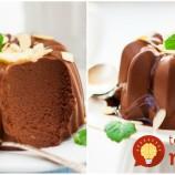 Mini koláčiky z čokoládovo-mliečnej peny