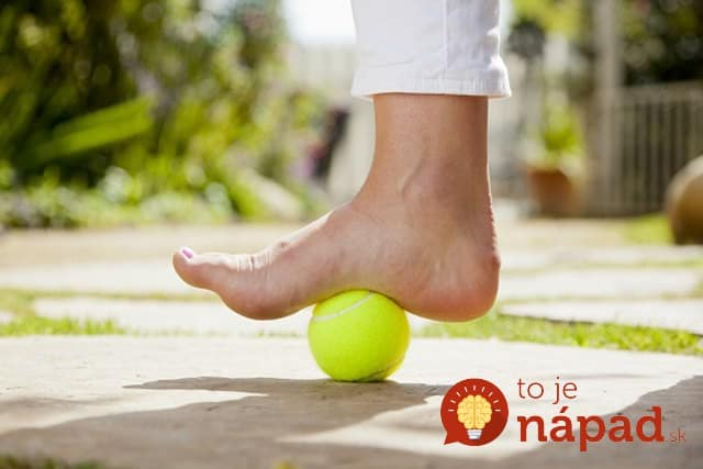 plantar fasciitis tennis ball treatment