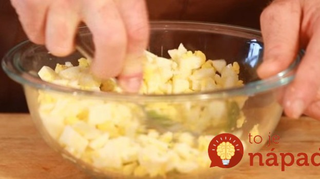 Zdravá vajíčková pomazánka s tajnou ingredienciou