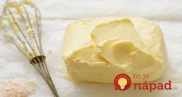 Ako si vyrobiť domáce maslo len pomocou pohára na zaváranie?