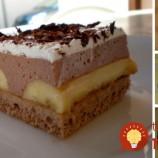 Banánový koláč s pudingovo-jogurtovým krémom