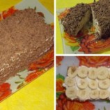 Lenivá tvarohová torta
