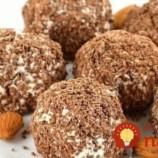 Tvarohovo-čokoládová guľky bez pečenia