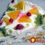 Mliečna torta s ovocím