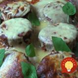 Chrumkavý pečený baklažán so syrom