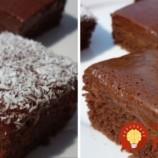 Rýchle a jednoduché čokoládové kocky