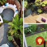 35 geniálnych riešení pre malé záhrady!