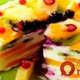 Tvarohovo-ovocná torta
