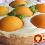 Fantastická broskyňová torta s tvarohom: Jednoduchá na prípravu a taká výborná, že si určite pridáte!