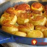 Mladé zemiaky pečené na panvici