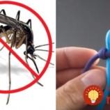 Náramok, ktorý vás ochráni pred komármi a otravným hmyzom!