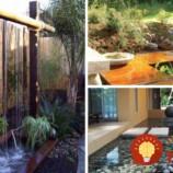 41 úžasných inšpirácií na záhradné jazierka a vodné záhrady