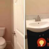 Žena sama zrekonštruovala mini kúpelňu v dome. Nestálo ju to takmer nič!