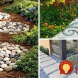 33 nápadov na chodníky z kameňov, ktoré budú ozdobou každej záhrady!