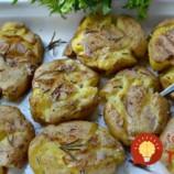 Rozpučené zemiaky s bylinkami