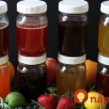8 domácich ovocných sirupov bez varenia a pridaného cukru!