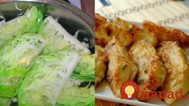 Kapusta, vajcia a strúhanka: To je všetko, čo potrebujete na prípravu skvelého jedla!