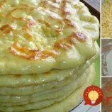 Kefírové placky plnené syrom!