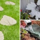 Dekorácie do záhrady v tvare listov. Takto jednoducho ich vyrobíte!