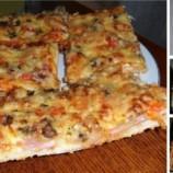 Vynikajúca domáca pizza