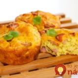 Hrnčekové Pizza muffiny s expresnou prípravou!
