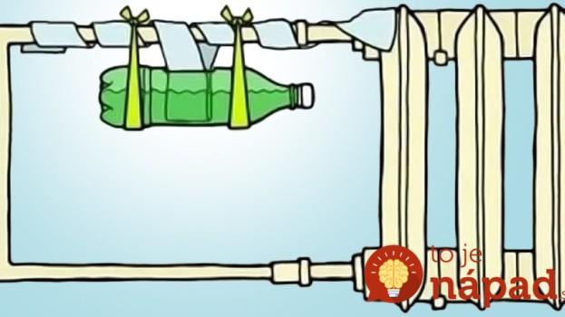 Žena priviazala fľašu k radiátoru. Keď sa dostavili výsledky, začala to robiť každý rok!