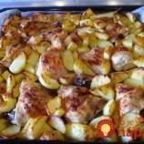 Večera 2v1: Nové zemiaky pečené s kurčaťom
